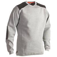 "Herock Artemis Sweater Heather Grey Large 39-42"" Chest"