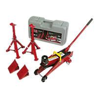 Hilka Pro-Craft 2 Tonne Trolley Jack Combi Kit