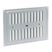 Map Vent Adjustable Vent Silver 229 x 152mm