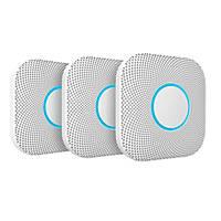 Google Nest A13 2nd Generation Smoke & Carbon Monoxide Alarm 3 Pack