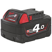 Milwaukee M18 B4 18V 4.0Ah Li-Ion RedLithium Battery