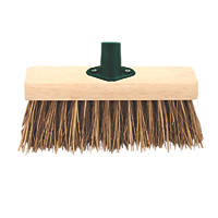 "Yard Broom Head & Bracket 13"""