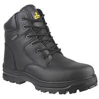 Amblers FS006C Metal Free  Safety Boots Black Size 13