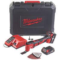 Milwaukee M18 BMT-421C 18V 2.0 & 4.0Ah Li-Ion RedLithium  Cordless Multi-Tool