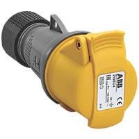 ABB 16A Connector 2P+E 110V Yellow