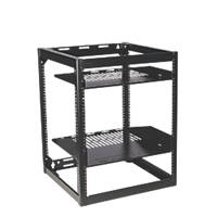 Sanus 2-Tier Steel 15U AV Skeleton Rack 518 x 508 x 666mm