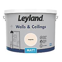 Leyland Retail Matt Emulsion Paint Magnolia 10Ltr