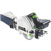Festool TSC55 LI 5.2 REBI-PLUS-SCA-GB 18 / 36V 5.2Ah Li-Ion Airstream 160mm Brushless Cordless Plunge Saw