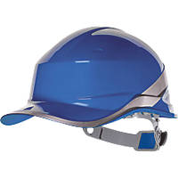 Delta Plus Diamond V Premium Push-Button Safety Helmet Blue