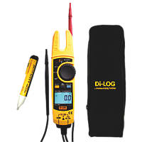 Di-Log AC/DC Open Jaw 1000V True RMS Electrical Tester 200A