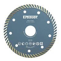 Erbauer  Masonry/Tile Turbo Diamond Blade 115 x 22.2mm
