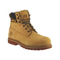 CAT Holton SB   Safety Boots Honey Size 6