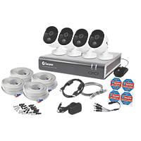 Swann SWDVK-845804V-EU 8-Channel 1080p CCTV DVR Kit & 4 Cameras