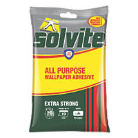 Solvite Extra Strong Wallpaper Adhesive 10 Roll Pack