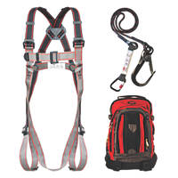 JSP Pioneer Single Tail Fall Arrest Kit with Lanyard 2m