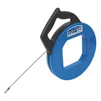 Ideal Tuff-Grip Pro Fish Tape Carbon-Blued Steel 18m (60ft)