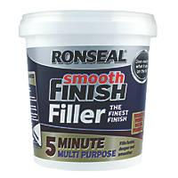 Ronseal 5 Minute Multipurpose Ready-Mixed Filler White 600ml