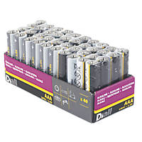 Diall  AAA Batteries 40 Pack