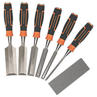 Magnusson  Bevel Edge Wood Chisel Set 7 Pieces