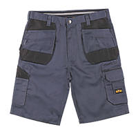 "Site Jackal Multi-Pocket Shorts Grey / Black 38"" W"