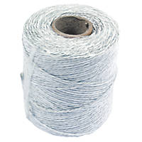 Stockshop Electric Fence Polywire White 3mm x 250m