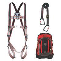JSP Pioneer Adjustable Restraint Kit with Lanyard 2m