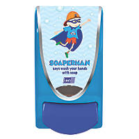 Deb Blue Soaper Man Soap Dispenser 1Ltr
