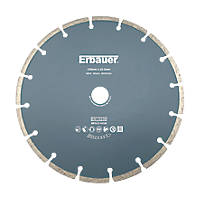 Erbauer  Masonry/Stone Segmented Diamond Cutting Blade 230 x 22.2mm