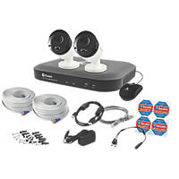 Swann SWDVK-449802V-UK 4-Channel 5MP CCTV DVR Kit & 2 Cameras