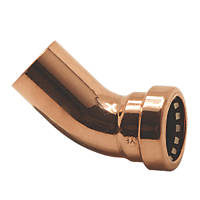 Tectite Sprint  Copper Push-Fit Equal 135° Street Elbow 15mm