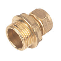 """Compression Adapting Male Coupler 15mm x ¾"""""""