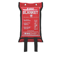 Firechief  Fire Blanket with Soft Case 1.2 x 1.2m