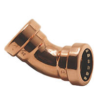 Tectite Sprint  Copper Push-Fit Equal 135° Elbow 22mm