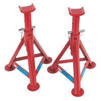 Hilka Pro-Craft 3 Tonne Fixed Axle Stands 2 Pack