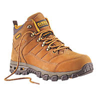 DeWalt Pro-Lite Comfort   Safety Boots Brown Size 8