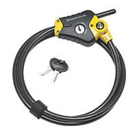 Master Lock Braided Steel Python Cable Lock 4.5m x 10mm