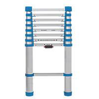 Aluminium Telescopic Extension Ladder 2.63m