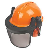Centurion Concept Vented Forestry Helmet Kit Orange