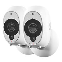 Swann SWWHD-INTCAMPK2-UK 1080p Wire-Free Security Camera Twin Pack 2 Pack