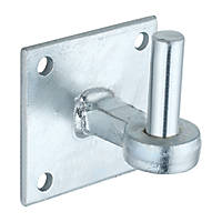 Hardware Solutions Hook on Plate   Galvanised 120 x 105 x 100mm
