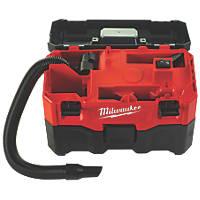 Milwaukee M18 VC2-0 18V Li-Ion   Cordless Wet / Dry Vacuum  - Bare