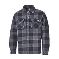 "Dickies Portland Padded Shirt Blue / Black 18.5"" 40"" Chest"