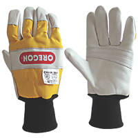 Oregon  2-Handed Protection Chainsaw Gloves Large