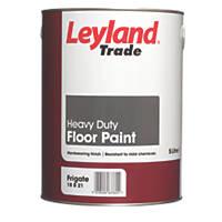 Leyland Trade Heavy Duty Floor Paint Frigate Grey 5Ltr