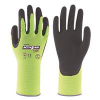 Towa ActivGrip Lite Gloves Black / Yellow Large
