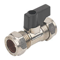 Isolating Valve with Handle 15mm