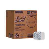 Kimberly-Clark Professional Scott Performance Folded Toilet Tissue  -Ply  x  36 Pack