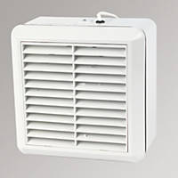 Manrose WF150AP  Automatic Axial Pullcord Kitchen Fan with Pullcord White 240V