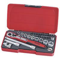 """Teng Tools T3834 3/8"""" Drive Socket Set 34 Pcs"""