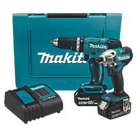 Makita DLX2336ST 18V 5.0Ah Li-Ion LXT  Cordless Twin Pack